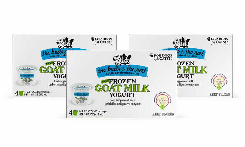 The Bear & The Rat - Goat Milk 12 Cup Pack - TheBite.Life