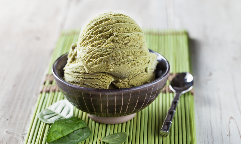 Green Tea Ice Cream Scoop