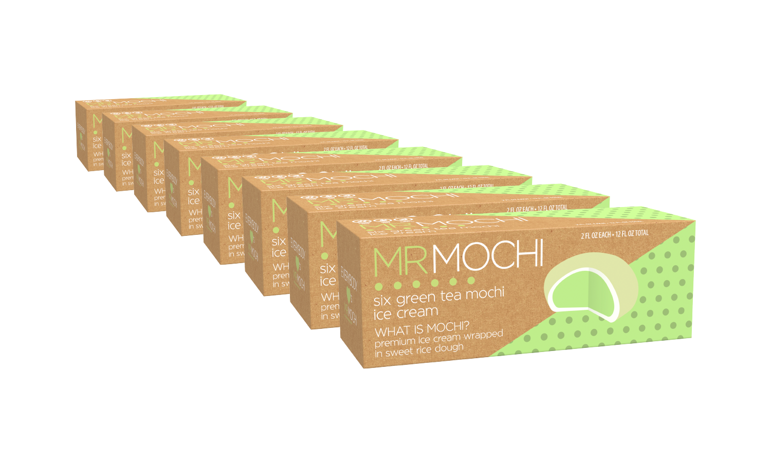Green Tea Lover 48 Mochi Pack
