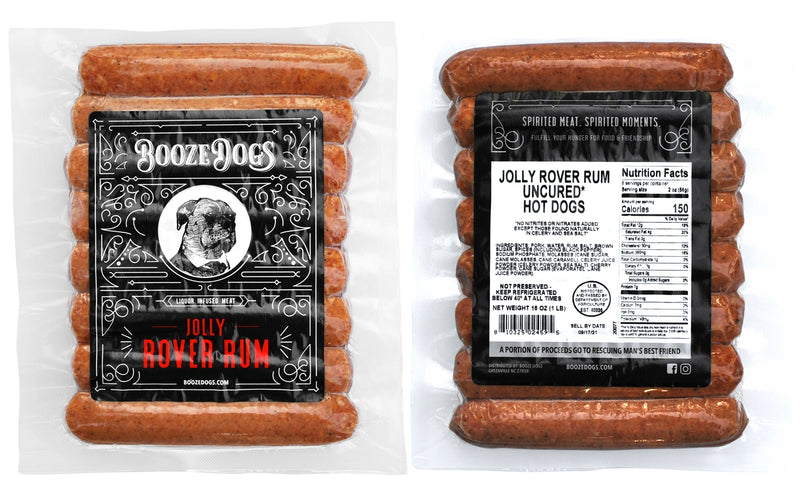 Booze Dogs - Rum Variety 3lb Pack - TheBite.Life