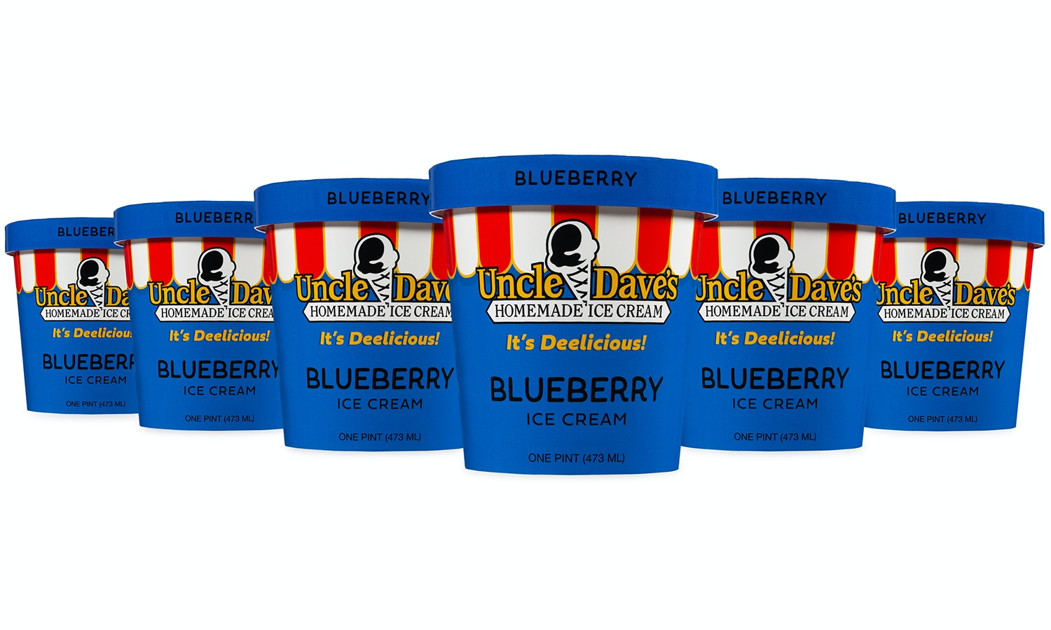 Blueberry State of Mind 6 Pint Pack