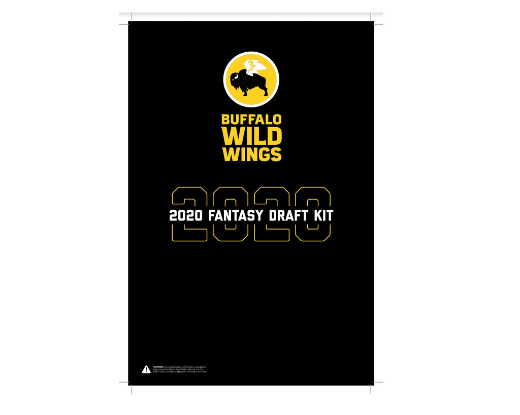 TrophySmack Buffalo Wild Wings 2020 Draft Kit