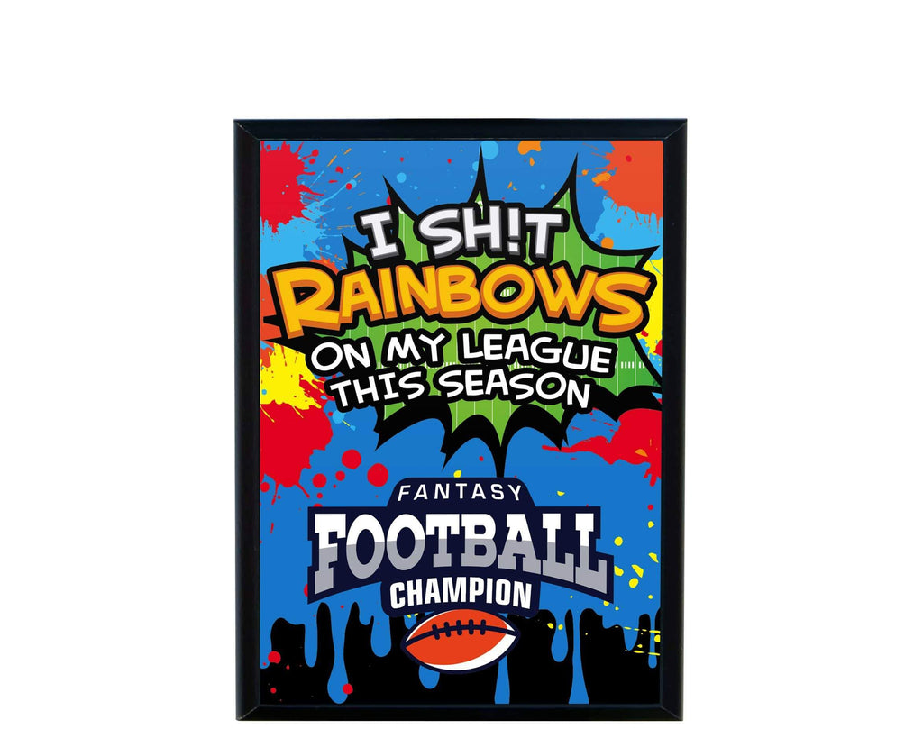 TrophySmack I Sh*T Rainbows Plaque (870451511357)