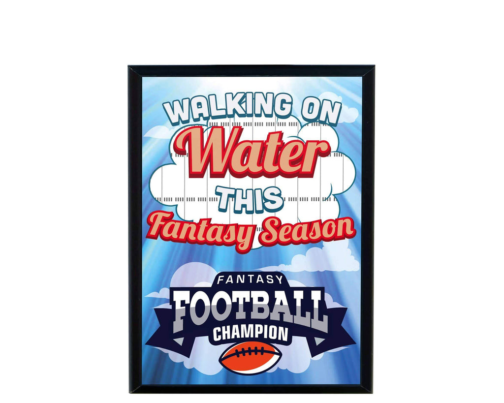 TrophySmack Walking on Water Plaque (870447185981)