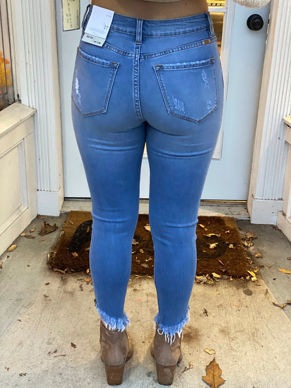 KC Kendall Ankle Zip Jeans