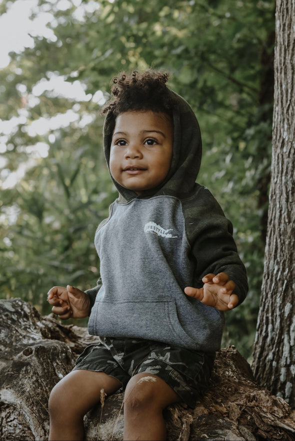 LI Lifestyle Kids Sweatshirt- Camo