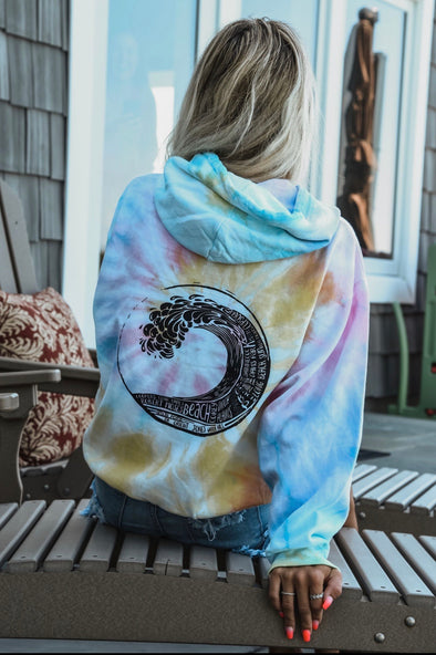 Island Strong Tie Dye Wave