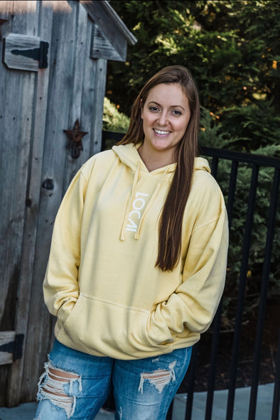 Island Strong Yellow Local Hoodie