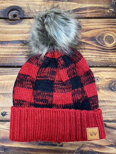 Buffalo Plaid Beanie