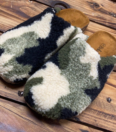 Comfy Camo Slippers
