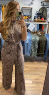 Once a Cheetah Jumpsuit