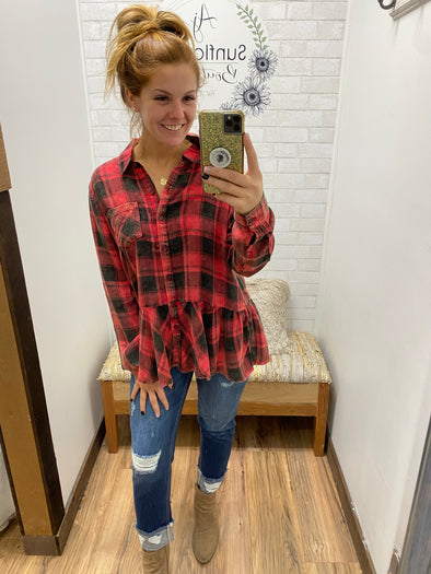 Date Night Flannel