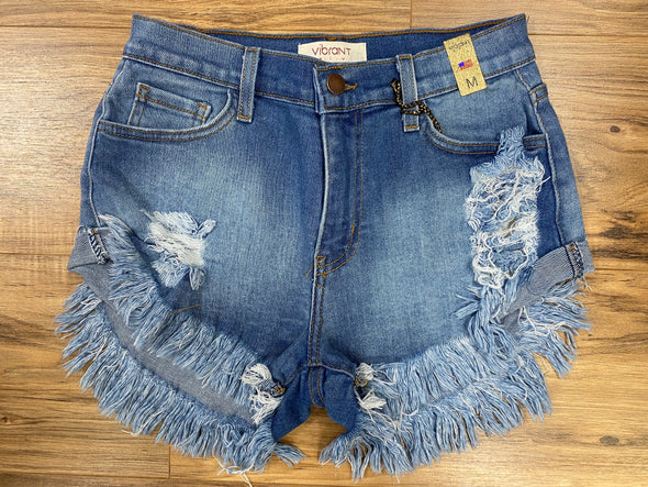 Izzy Distressed Shorts