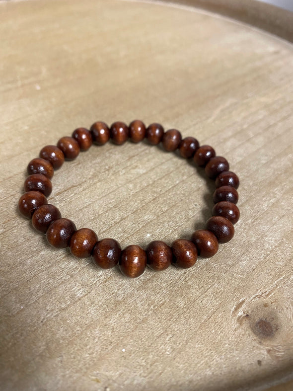 Skye_LoweKo Wooden Beaded Bracelet
