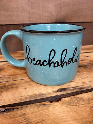 Beachaholic Blue Mug