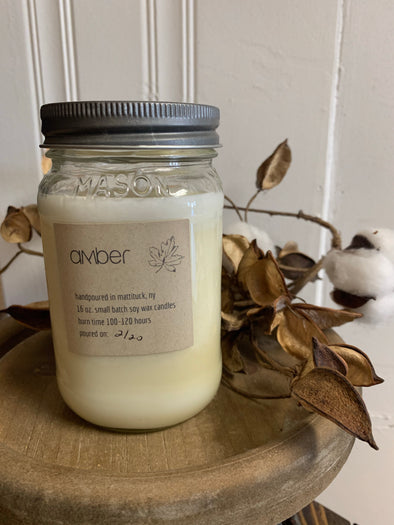 Amber Soy Candle