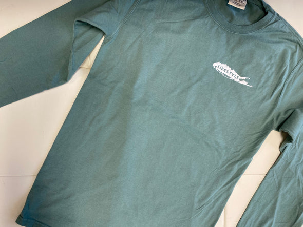 LI LIFESTYLE Bass LS Tee Green