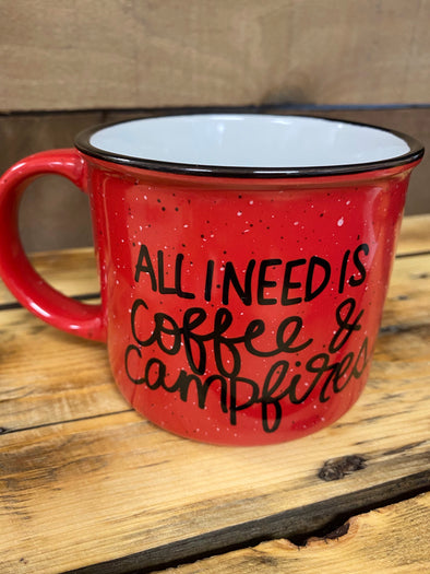 All I need is coffee & campfires