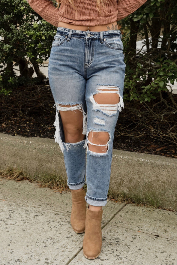 No Need To Distress Jeans
