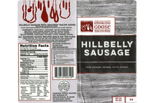 Hillbelly Ground Breakfast Sausage