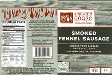 Smoked Fennel Sausage Link (Italian)