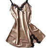 Ladies Sexy Silk Satin Night Dress