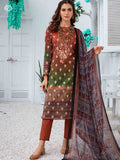 AMARELLIS PRINTED CAMBRIC COTTON EMBROIDERED TH022A1