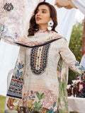 Luxury Embroidered And Digital Printed Lawn With Bamber Chiffon Embroidered Sequin Work Dupata PRP2106A2