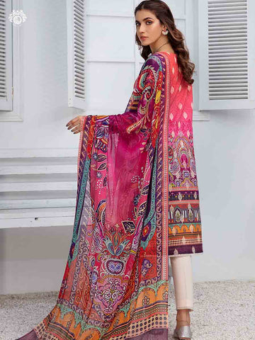 DAWN ATTRIBUTE PRINTED CAMBRIC COTTON EMBROIDERED TH022A3