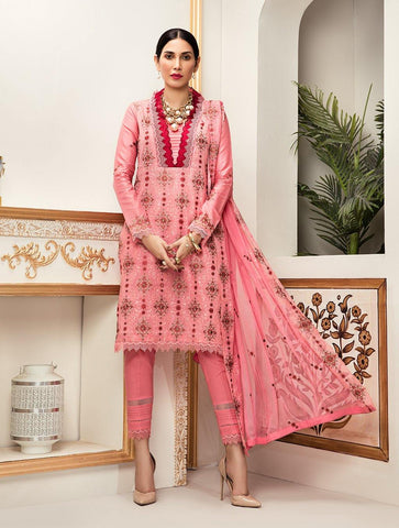 Shirt Shalwar Dupatta Royal Pink