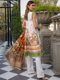 Luxury Digital Embroidered Daman With Exclusive Silk Dupata GR2101A10