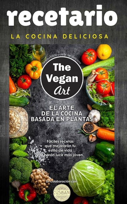 Recetario The Vegan Art