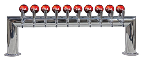Draught Beer > Towers > Traditional American > Pass Thru Towers > Pass Thru 10-12 Tap