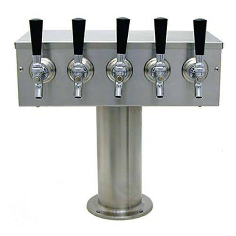"Draught Beer > Towers > Traditional American > Single Pedestal T > 4"" DIA Pedestal"
