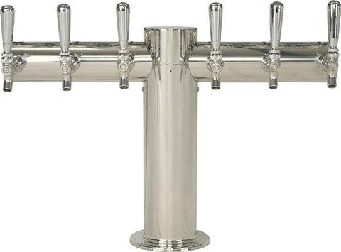 Draught Beer > Towers > Classic Metro Towers > Single Pedestal T Towers > Metro T 6 Tap
