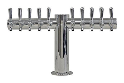 Draught Beer > Towers > Classic Metro Towers > Single Pedestal T Towers > Metro T 10 Tap