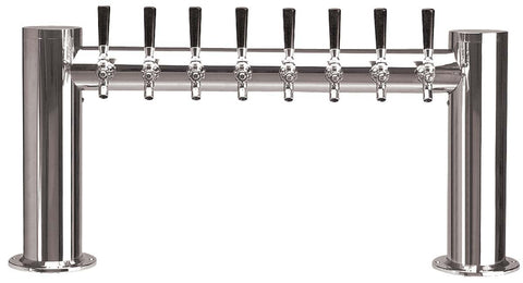 "Draught Beer > Towers > Classic Metro Towers > Two Pedestal ""H"" Towers > Metro ""H"" 8 Tap"