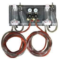 Draught Beer > Co2 and N2 Equipment > Regulator/FOB Panels > Cornelius Regs - Acrylic FOBs