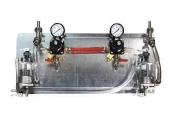 Draught Beer > Co2 and N2 Equipment > Regulator/FOB Panels > Taprite Regs - SS FOBs