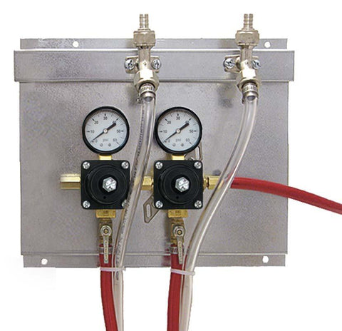 Draught Beer > Co2 and N2 Equipment > Regulator Panels