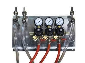 Draught Beer > Co2 and N2 Equipment > Regulator Panels > Taprite Deluxe Panels