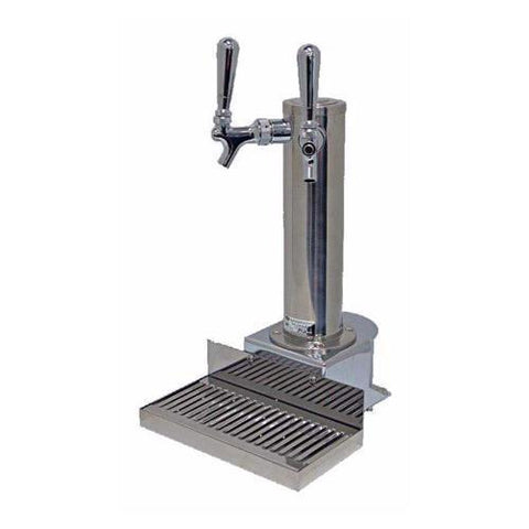 Draught Beer > Towers > Clamp-On Towers > Clamp-On 2 Tap