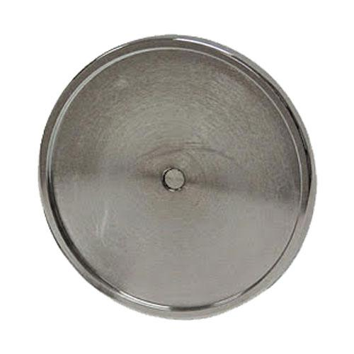 CHROME ROUND MEDALLION HOLDER w/ SCREW FOR FACE MOUNT APPLICATIONS