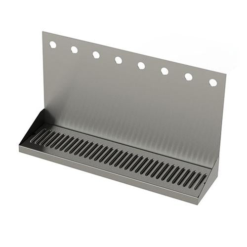 "24""L x 6 3/8""W - SS WALL MOUNTED DRIP TRAY"