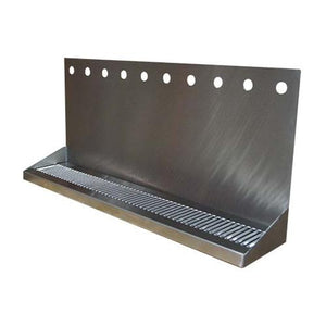 "30""L x 6 3/8""W - SS WALL MOUNTED DRIP TRAY"