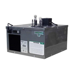 "VIN SERVICE ""FLAT"" FLASH COOLER w/2-SS PRODUCT LINES"