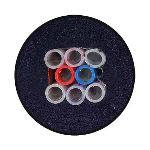 "6 TUBES - 3/8"" ID PVC FIRE RATED TRUNKLINE"