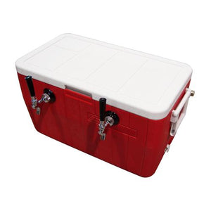 "48QT COOLER w/ 1 TAP - 8"" x 12"" Cold Plate"