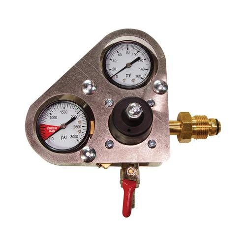 160lb N2 PRIMARY REGULATOR w/ GAUGE GUARD