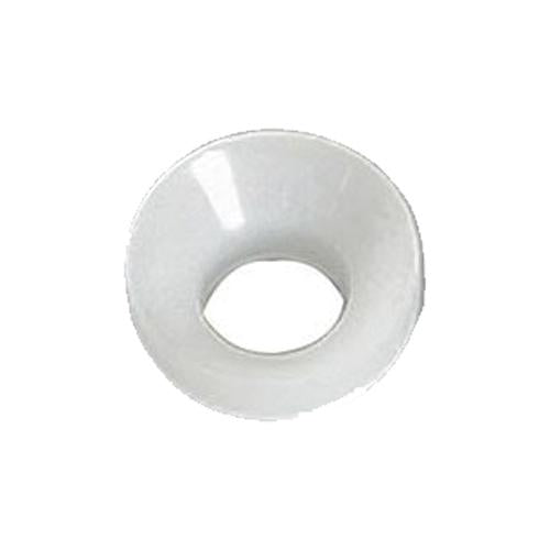 "1/4"" WHITE FLARE WASHER"